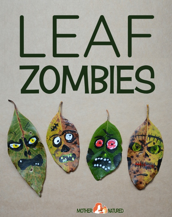 leaf art monsters