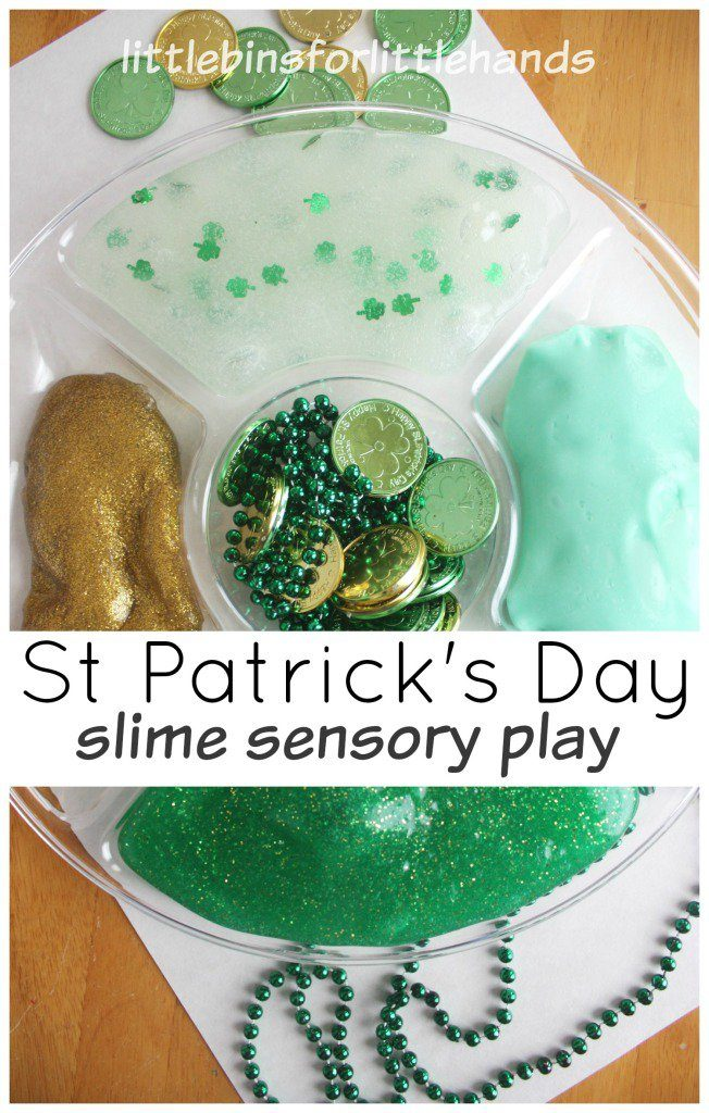 green slime for st patricks day
