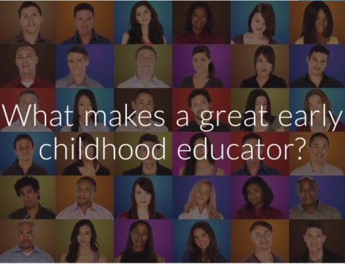 What makes a great early childhood educator?
